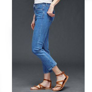 NWT Gap1969 Ankle Crop Kick Boot Jeans Size 26